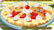 Готовим пирог с вишнями!