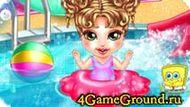 Ведем ребенка в бассейн