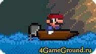 Гонка на лодке с Марио.