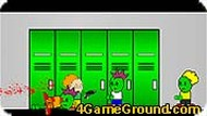 Уничтожьте всех школьных зомби!