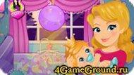 Сделайте комнату для маленькой принцессы