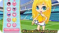 Футбольные девочки