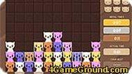 Три кота в ряд
