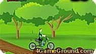 Погоняй на велосипеде с Зелёным Фонарём!