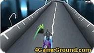 3D гонка по трубам.