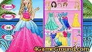 Подберите наряд для принцессы!
