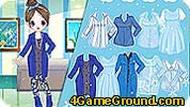 Подбираем одежду синего цвета