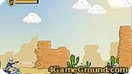 Погоня в пустыне