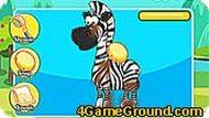 Даша путешественница и маленькая зебра