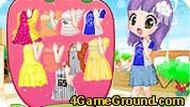 Одевалка маленьких девочек