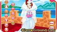 Свадебная игра-одевалка