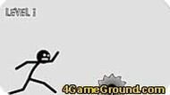 Стикмен бежит