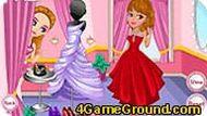 Одевалка с принцессой