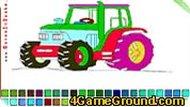 Красим трактор
