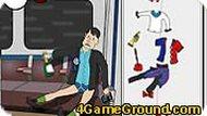 Пьяный в метро