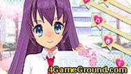 Школьная аниме одевалка
