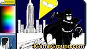 Бэтмен: раскраска