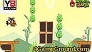 Игра Angry Birds: вертолёт