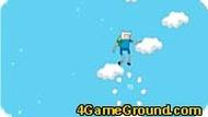 Финн и Джейк: прыжки в облаках