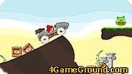 Angry Birds в машине
