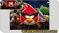 Пазл с Angry Birds