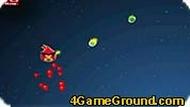 Игра Angry Birds играют в космосе