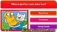 Финн и Джейк играют