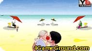 Парочка на пляже