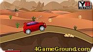 Машина в пустыне