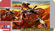 Мотоцикл: пазл