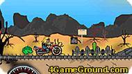 Мотоциклы в пустыне