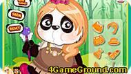 Игра с пандой