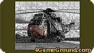 Игра Пазл вертолёт
