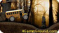 Автобус в лесу