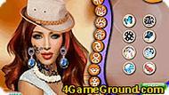 Ким Кардашян макияж