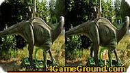 Игра Отличия динозавров