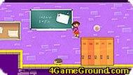 Даша играет в школе
