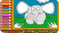 Весёлый слон