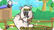 Кот боец