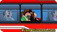 Поцелуи в автобусе