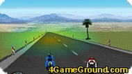 Опасная гонка на мотоциклах
