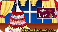 Игра Украсьте свадебный торт