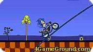 Игра Соник на мотоцикле