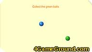 Игра Синий шарик