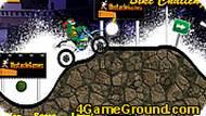 Игра Черепашки-ниндзя на мотоцикле