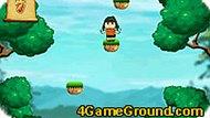 Прыгающая девочка