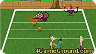 Финес и Ферб: игра с мячом