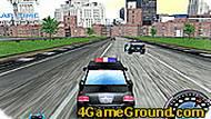 Игра Гонки полицейских машин