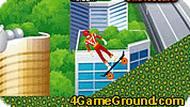 Могучие рейнджеры: игра на скейте