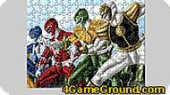 Игра Картинка с Могучими рейнджерами